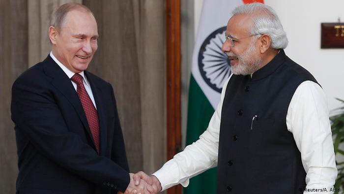 """Rússia e Índia:  """"A importância deste relacionamento e o seu lugar único na política externa da Índia não vão mudar"""" – Narendra Modi"""