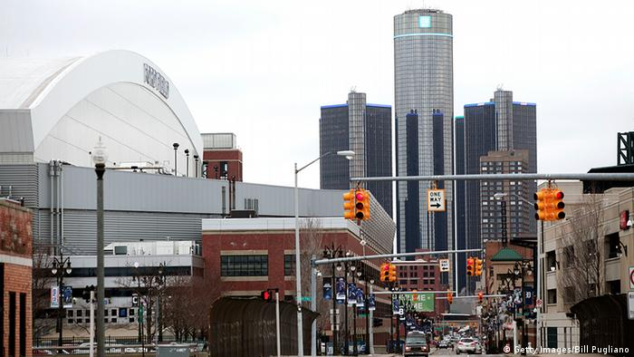 USA Detroit nach der Insolvenz Aufbau Detroit blüht auf General Motors