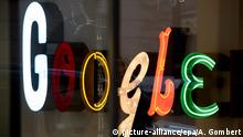 Google Logo Firmensitz in New York