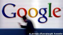 Google Logo Frankfurt