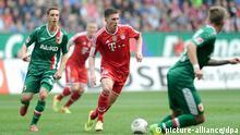 Fußball 1. Bundesliga 29. Spieltag FC Augsburg - FC Bayern München am 05.04.2014