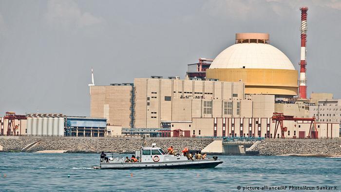 Kudankulam Atomkraftwerk Indien (picture-alliance/AP Photo/Arun Sankar K.)