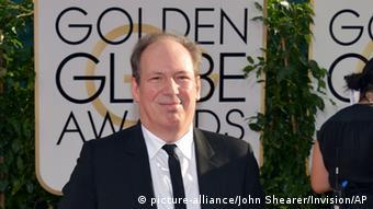 Hans Zimmer arrives at the 71st annual Golden Globe Awards, Copyright: John Shearer/Invision/AP