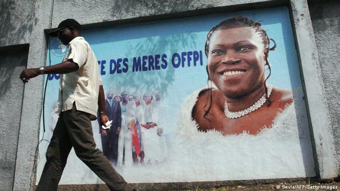 Simone Gbagbo, former first lady of the Ivory Coast (Sevia/AFP/Getty Images)
