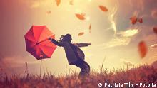 Herbst Wetter Wind Natur Symbolbild