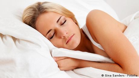 Schlafen Symbolbild