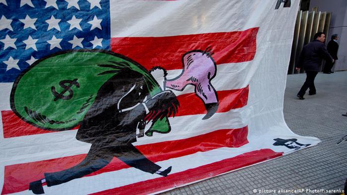 În Argentina, FMI și fondurile de investiții sunt considerate excese ale capitalismului american