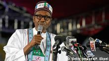 Nigeria - nominierter Präsidentschaftskandidat Muhammadu Buhari