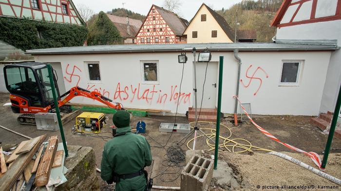 آتشسوزی در اقامتگاه پناهجویان در آلمان