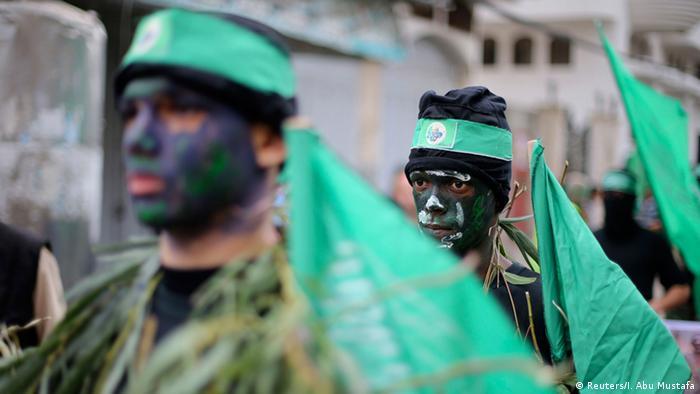 Hamas Mitglieder Parade in Gaza 12.12.2014