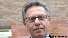 Präsident der Venedig Komission, Gianni Buquicchio.