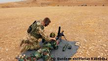 Symbolbild - Bundeswehr bildet kurdische Peschmerga aus