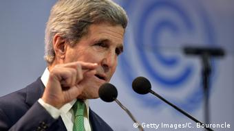 Lima - COP 20 US Außenminister John Kerry