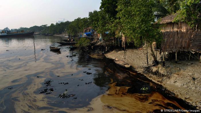 Ölteppich bedroht Weltnaturerbe in Bangladesch