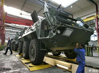 В цехе одного из заводов Rheinmetall