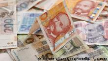 Banknoten Geldscheine Kroatische Kuna