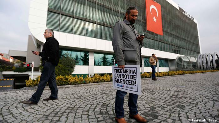 Офис редакции газеты Zaman в Стамбуле
