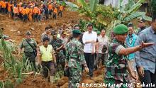 Indonesien Erdrutsch 14.12.2014