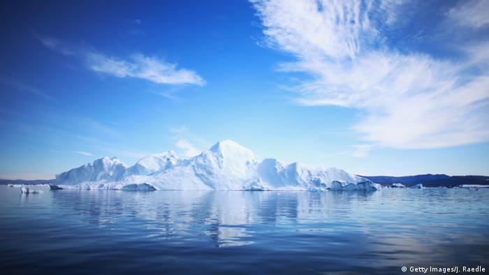 Symbolbild Dänemark erhebt Anspruch auf Nordpol (Getty Images/J. Raedle)