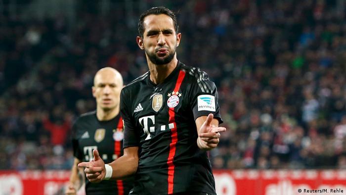 Medhi Benatia 13.12.2014 Bayern vs Augsburg (Reuters/M. Rehle)
