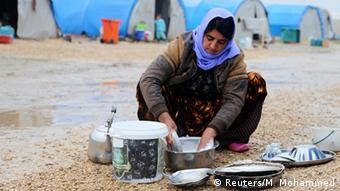 جنگ داخلی سوریه صدها هزار از شهروندان غیرنظامی را آواره کرده است