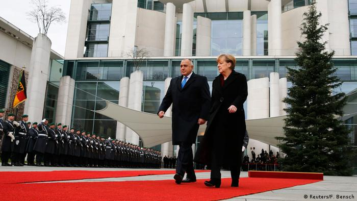 Бойко Борисов и Ангела Меркель в Берлине, 15.12.2014