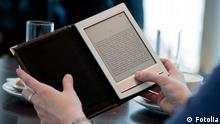 Kindle e-reader, Copyright: Fotolia