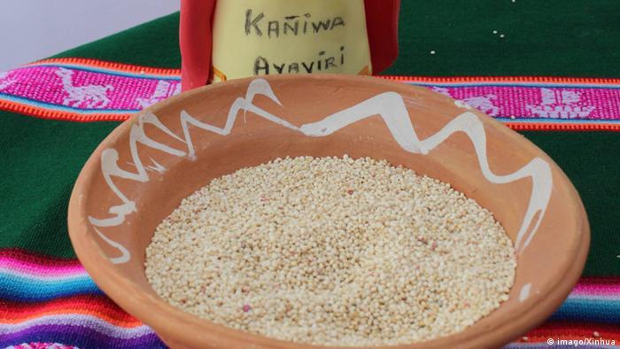 Quinua Körner aus Peru