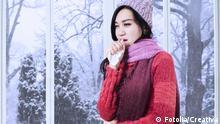 Schal Mode Erkältung Symbolbild