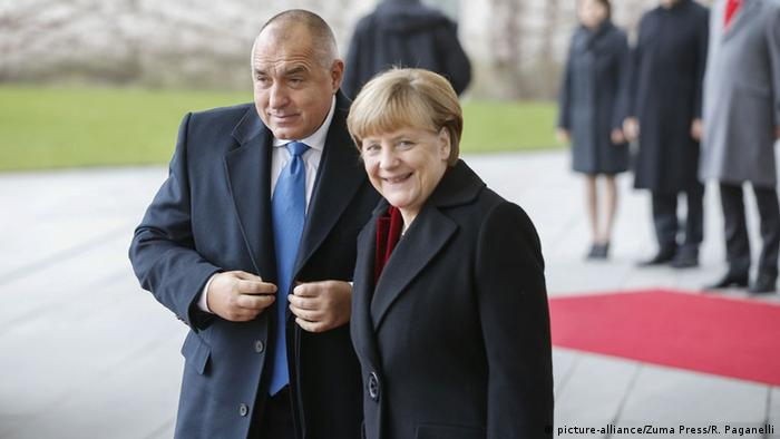 Angela Merkel und Bojko Borissow in Berlin 15.12.2014 (picture-alliance/Zuma Press/R. Paganelli)
