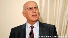 Stavros Dimas Präsidentschaftskandidat in Griechenland ARCHIV 2012