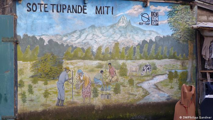 Wandgemälde Sote tupande miti