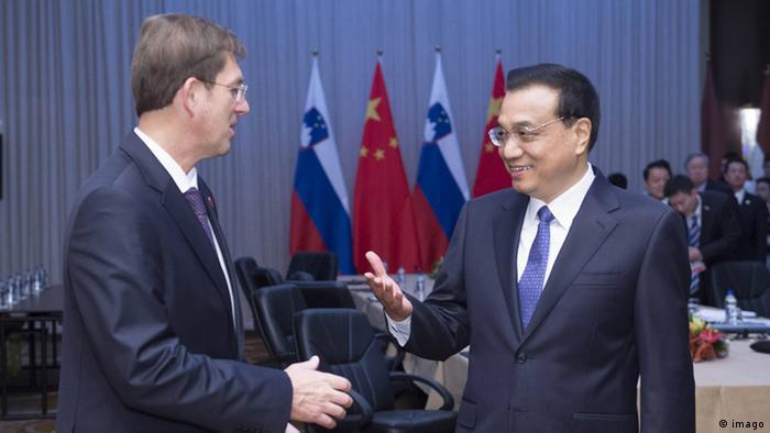 Serbien Premierminster Treffen in Belgrad Li Keqiang China und Miro Cerar