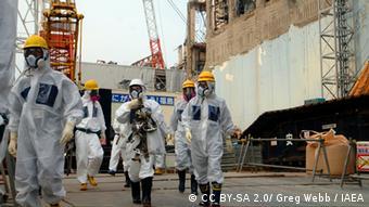 IAEA-Experten besuchten das Atomkraftwerk Fukushima im April 2013. (Foto: Greg Webb/IAEA)