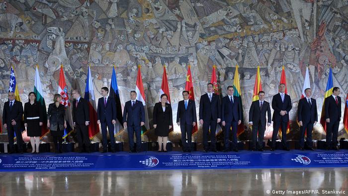 Serbien Premierminster Treffen in Belgrad mit Li Keqiang China