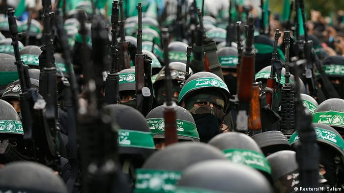 Militärparade von Hamas in Gaza City, 14.12. 2014 (Foto: Reuters)