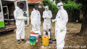 Ebola Sierra Leone Oktober 2014