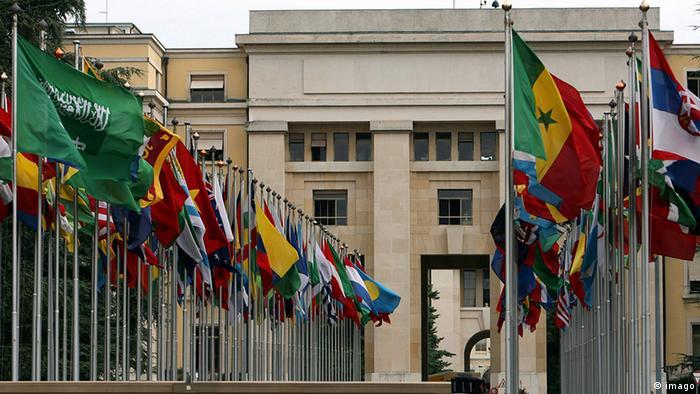 Palácio das Nações, em Genebra