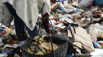 Mosambik Maputo Müllhalde von Hulene/Lixeira de Hulene