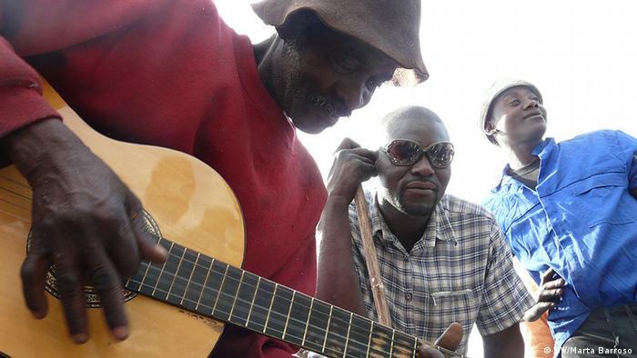 Músicos moçambicanos em Maputo (foto de arquivo/2014)
