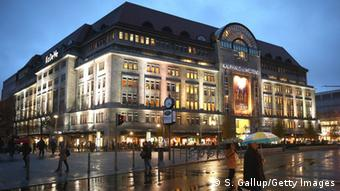 Berlin City West - exterior view of the Department Store of the West (Kaufhaus des Westens)