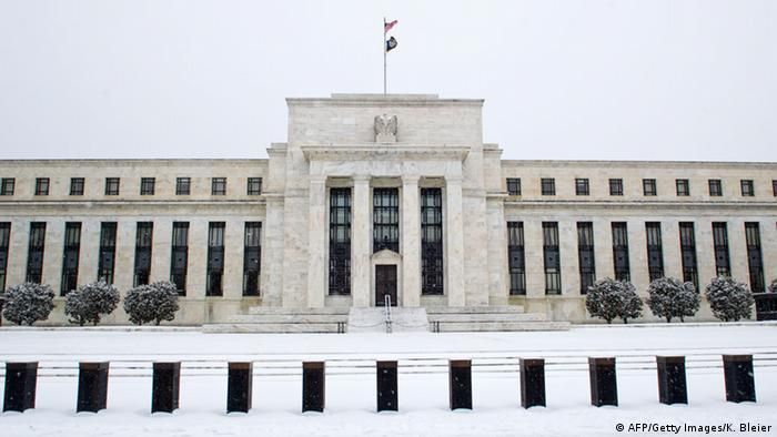 US Federal Reserve in Washington DC