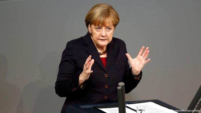Angela Merkel Regierungserklärung vor EU Gipfel 18.12.2014