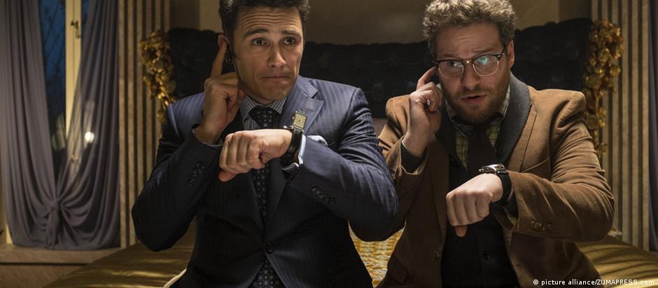 """James Franco e Seth Rogen em """"A entrevista"""""""