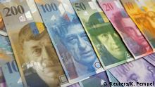Schweiz Frank Banknoten