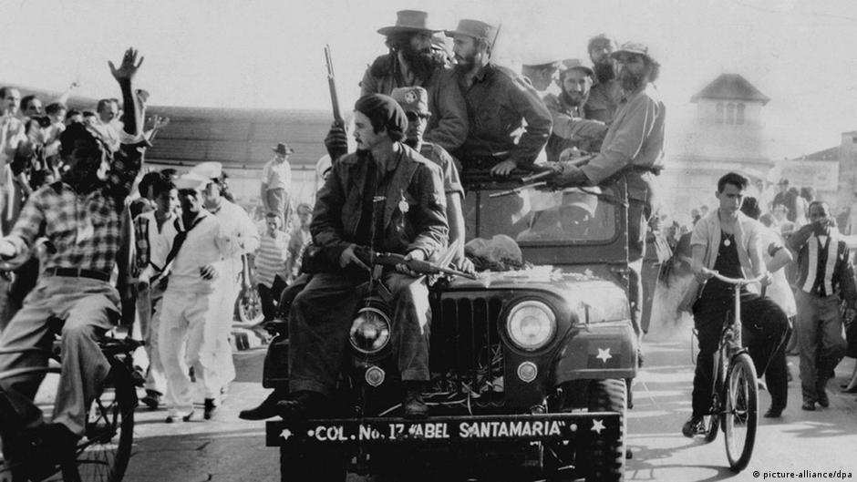 Bildergalerie Kuba - USA Einmarsch der Rebellen in Havanna 1959