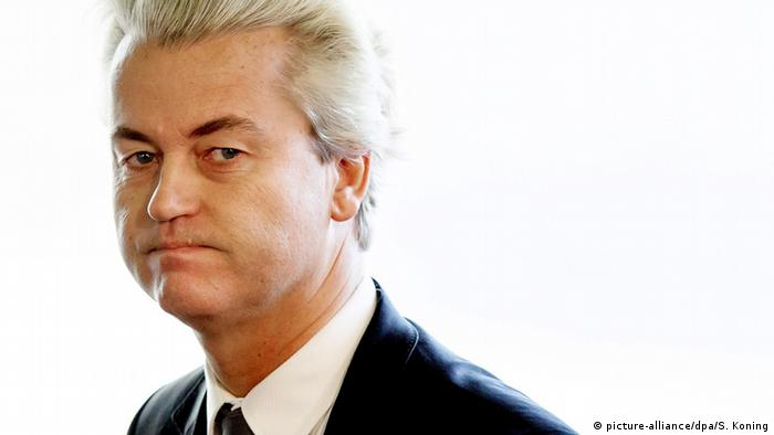 Niederlande - Politiker Geert Wilders (picture-alliance/dpa/S. Koning)