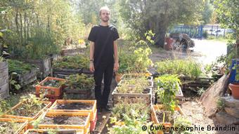 Raetzel's garden project in Berlinerstellung von Terra Preta-Boden in Berlin
