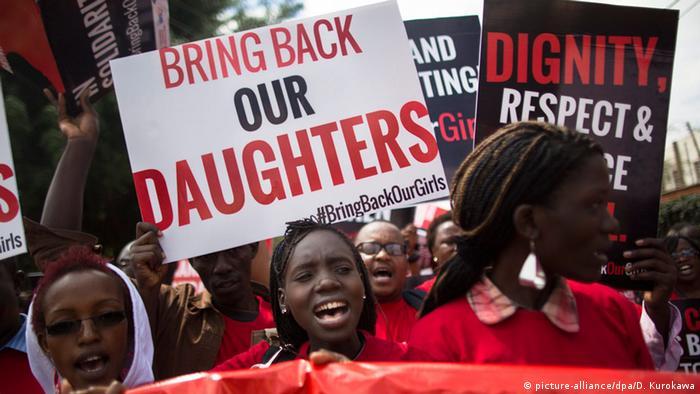 Protest for Chibok Girls in Nigeria