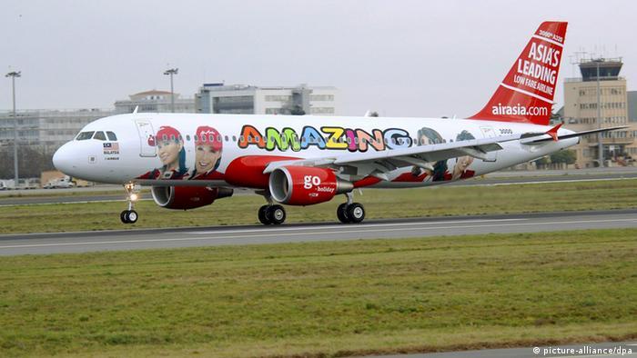 Один из самолетов Air Asia